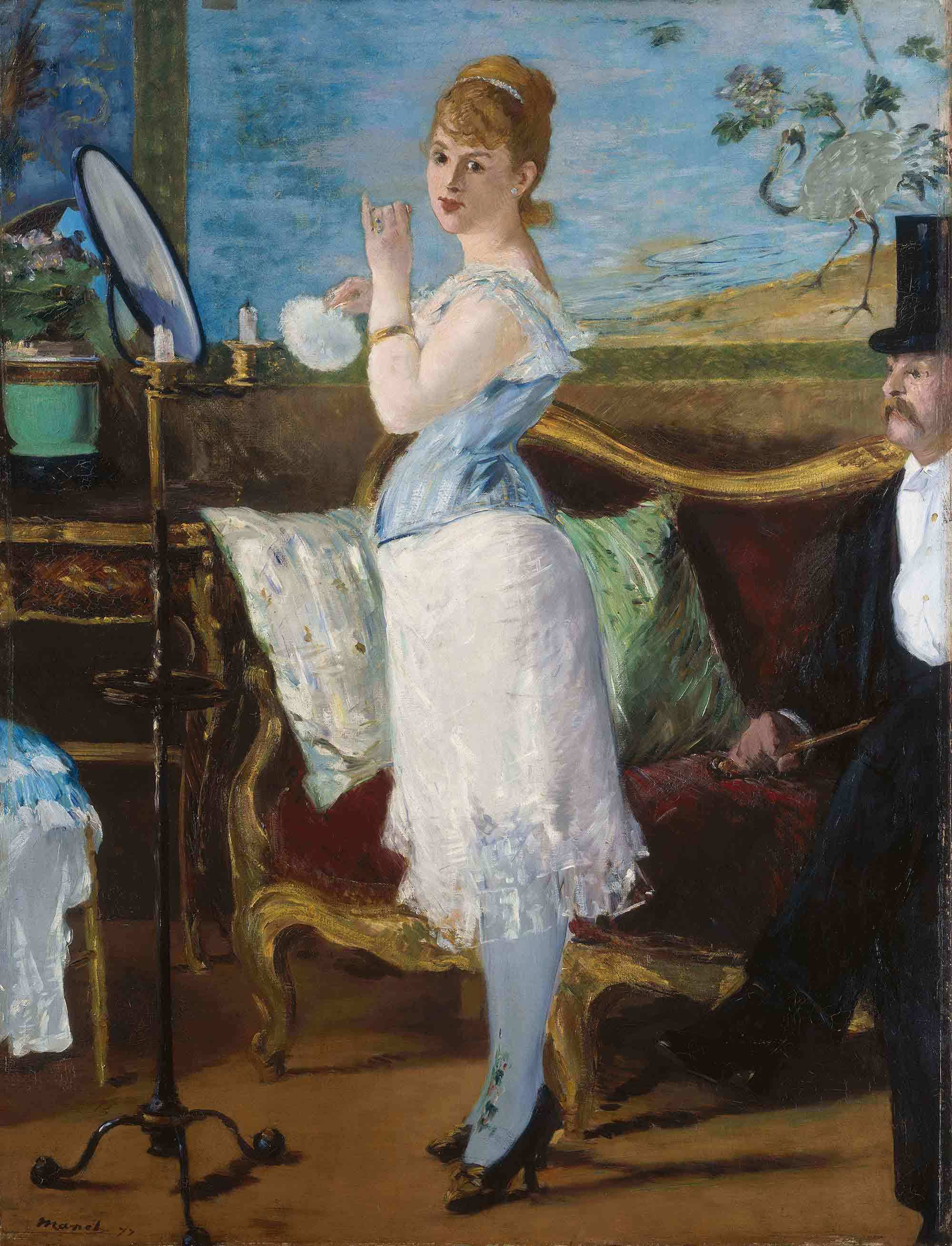Ham Eduard Manet Nana Minimum